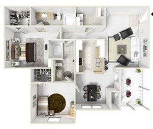 Floorplan - Plan D image