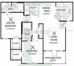 Floorplan - Plan E image