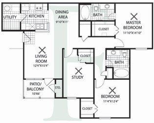 Floorplan - Plan F image