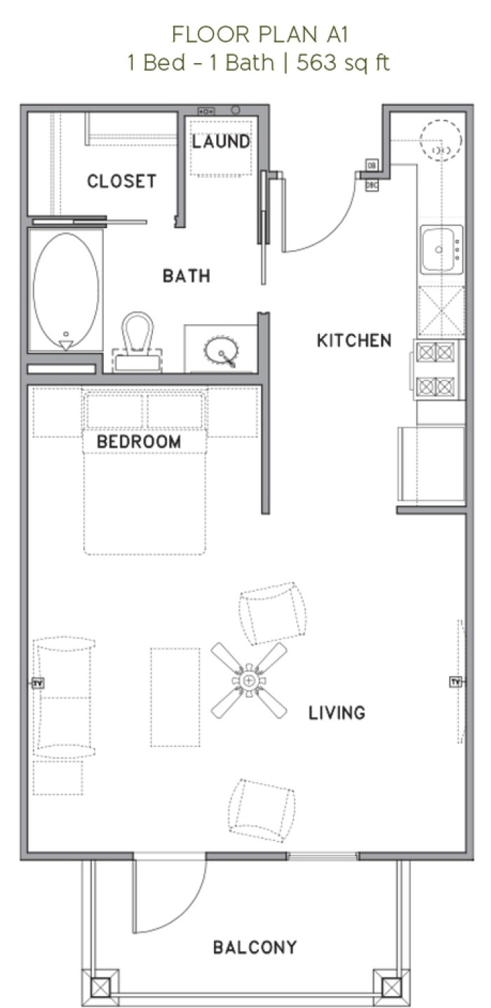 The Reserve at Couret Farms - Floorplan - A1