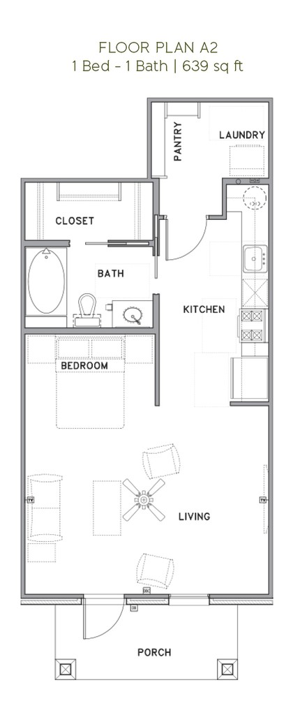 The Reserve at Couret Farms - Floorplan - A2
