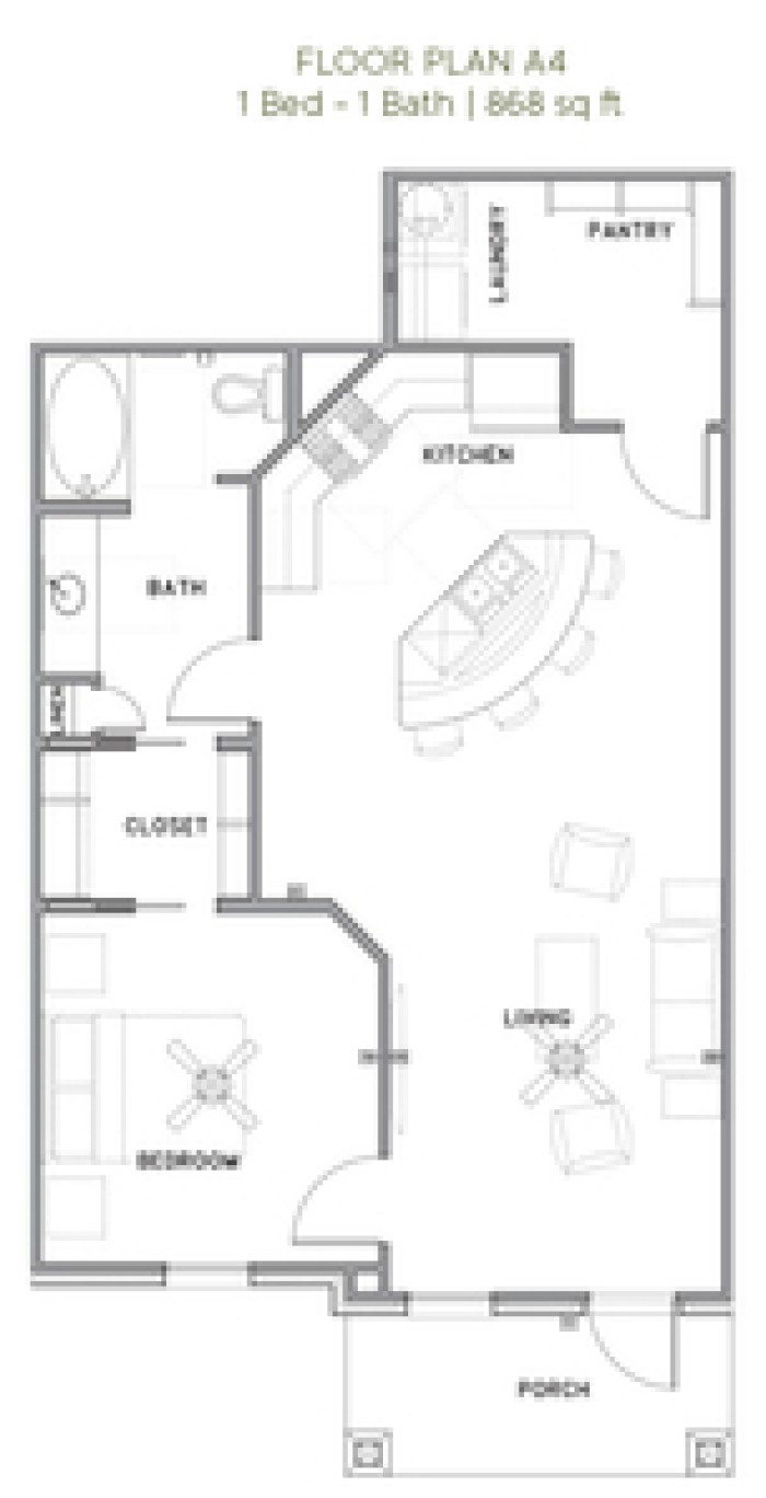 The Reserve at Couret Farms - Floorplan - A4