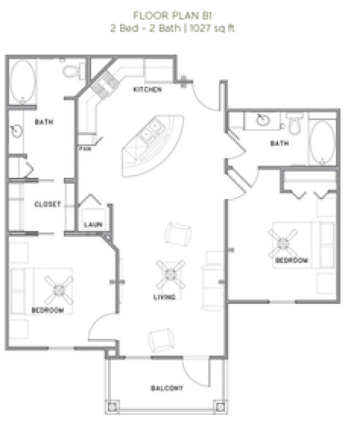The Reserve at Couret Farms - Floorplan - B1