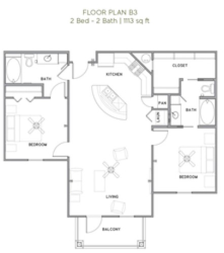 The Reserve at Couret Farms - Floorplan - B3