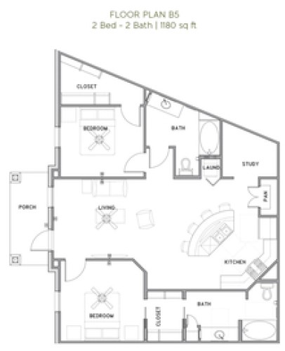 The Reserve at Couret Farms - Floorplan - B5
