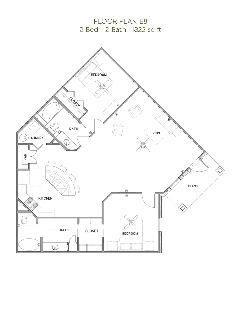 The Reserve at Couret Farms - Floorplan - B8