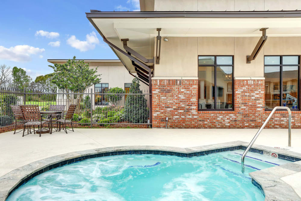 Hot Tub at The Reserve at Couret Farms Apartments in Lafayette, LA