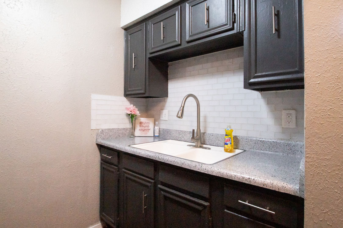Newly Updated Kitchens at Courtyard Park in Abilene, Texas