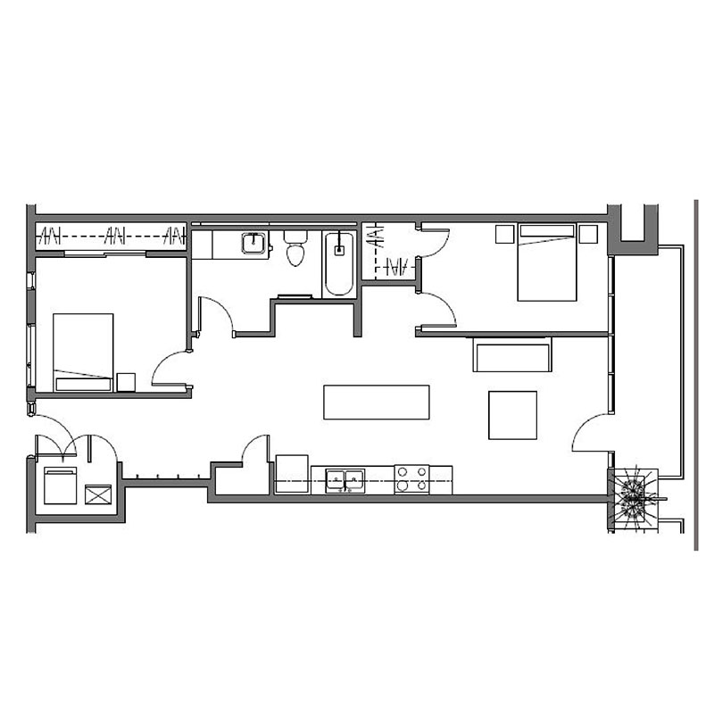 Floorplan - Chelsea - Affordable image