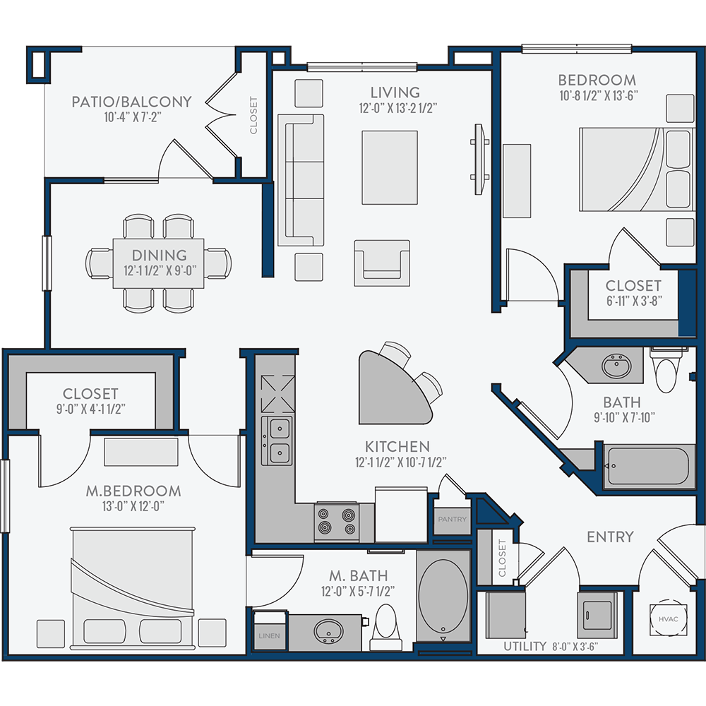 Creekside Crossing - Floorplan - The Livingston