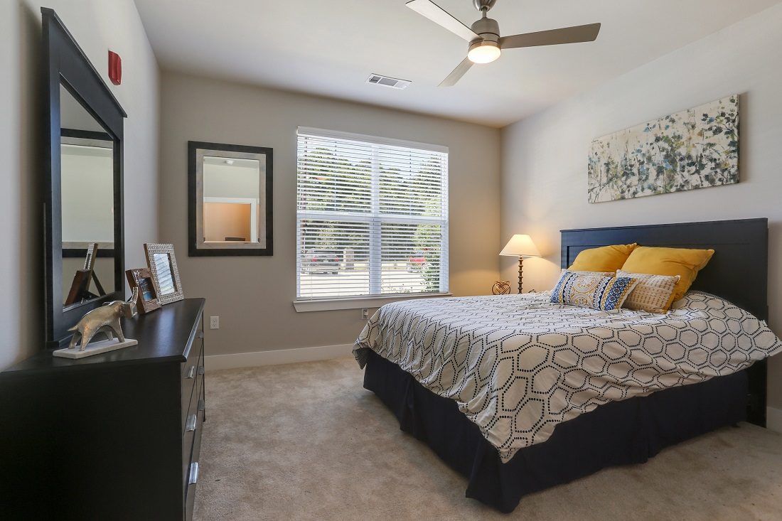 Bedrooms with Carpeting at Creekside Crossing in Walker, Louisiana