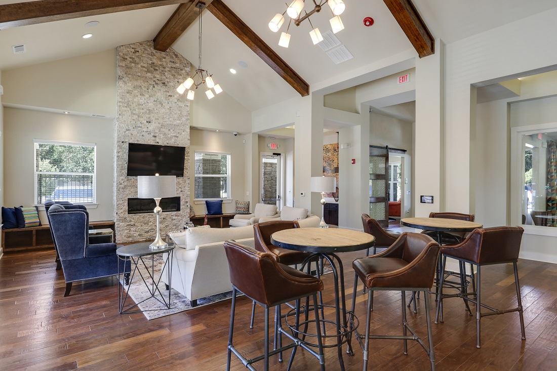 Gorgeous Resident Clubhouse at Creekside Crossing in Walker, Louisiana