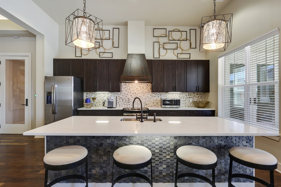Upscale Interiors at Creekside Crossing in Walker, Louisiana