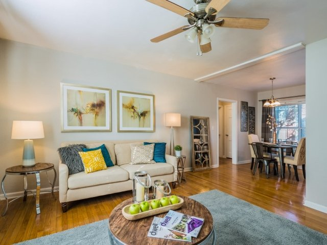 Hardwood Flooring at Crestwood Place Apartments in Fort Worth, TX