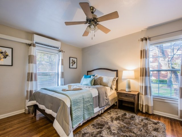 Two Bedroom Apartments at Crestwood Place Apartments in Fort Worth, TX