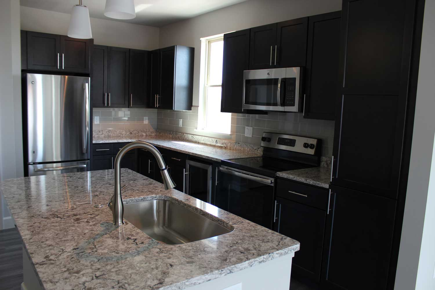 Stainless Steel Appliance at The Vue at Creve Coeur Apartments in Creve Coeur, MO