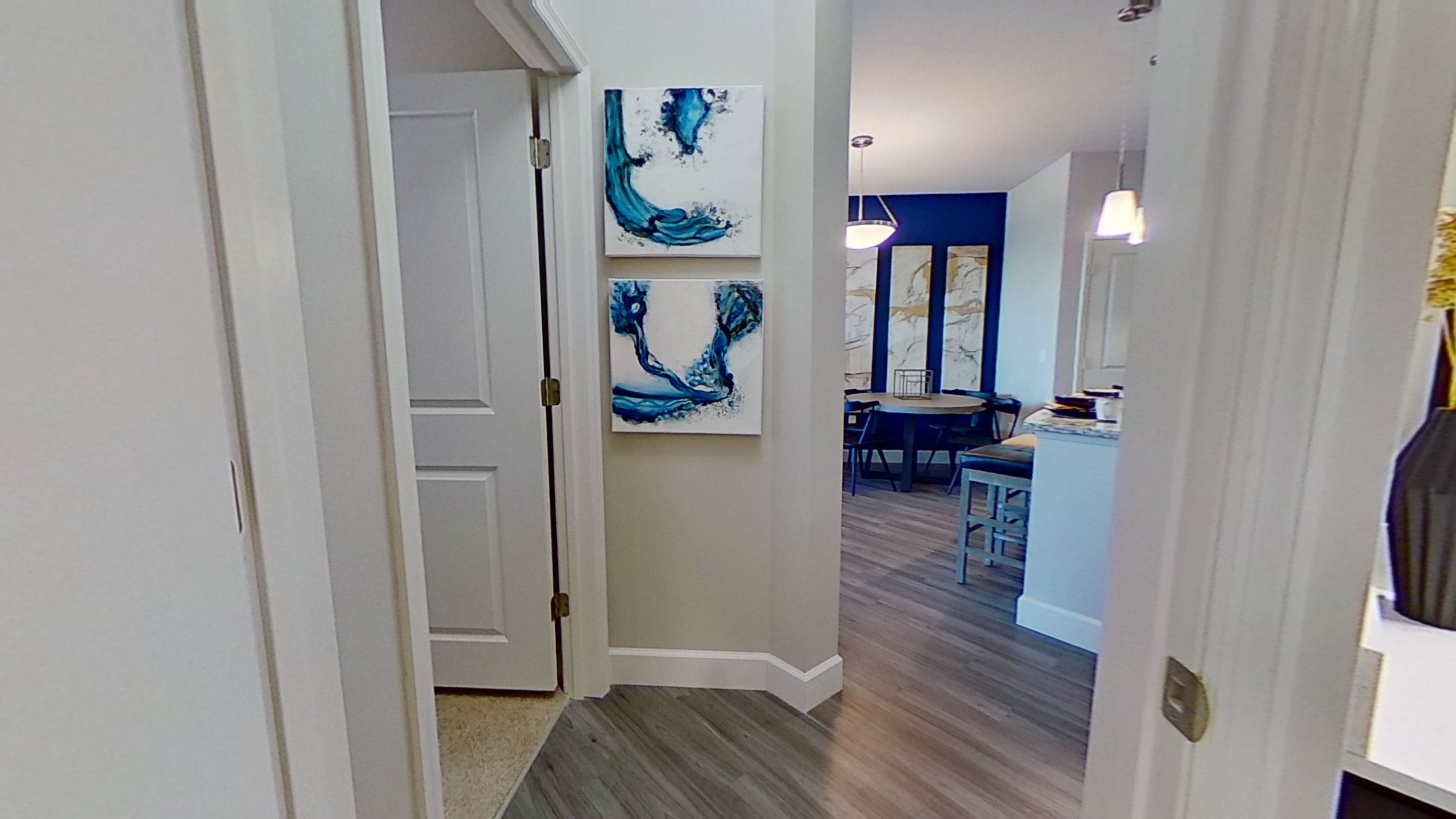 A3 Unit Interior at the Vue at Creve Coeur Apartments in Creve Coeur, MO