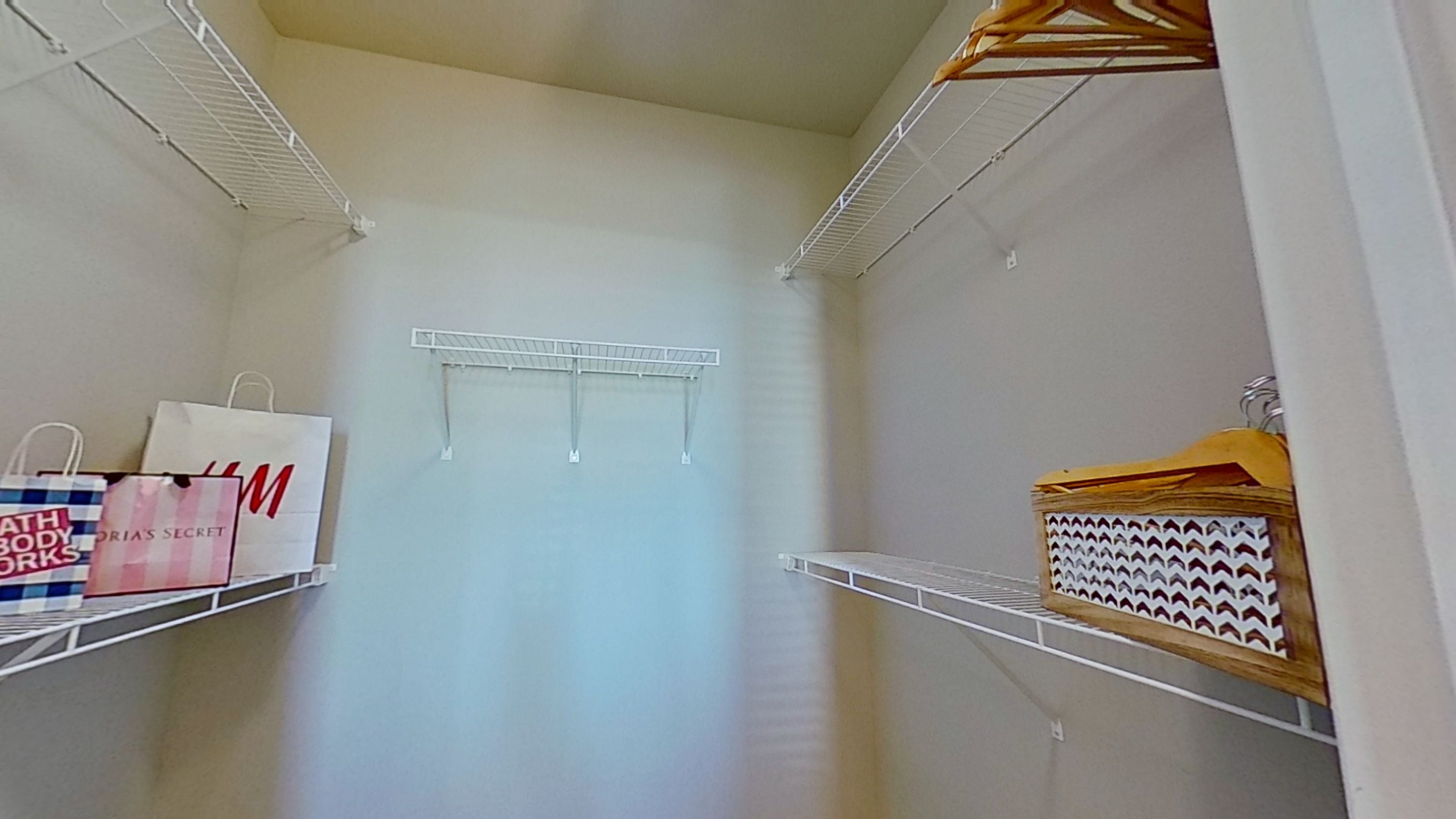 A3 Unit Walk-in Closet at the Vue at Creve Coeur Apartments in Creve Coeur, MO