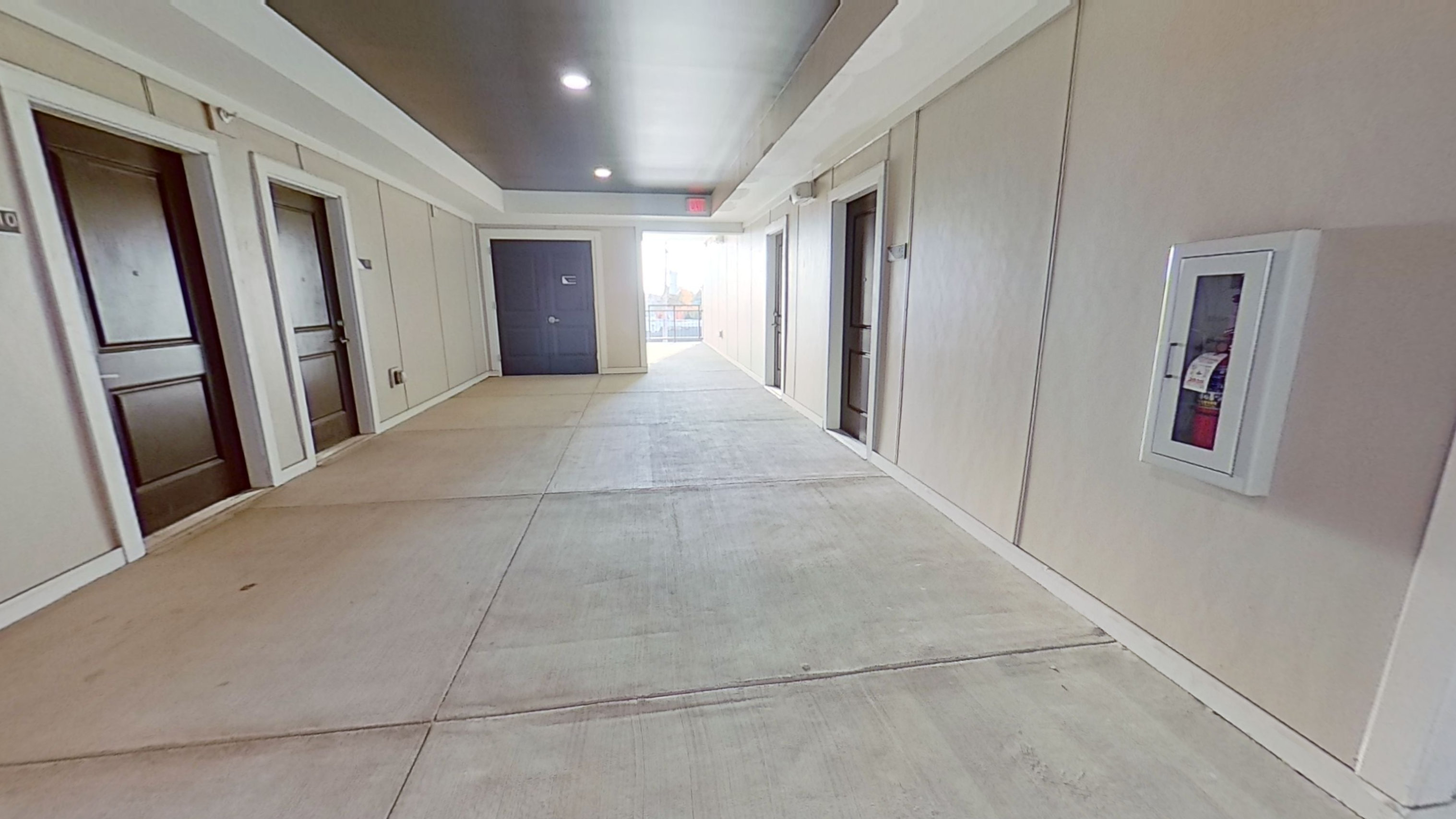 B1 Hallway at the Vue at Creve Coeur Apartments in Creve Coeur, MO