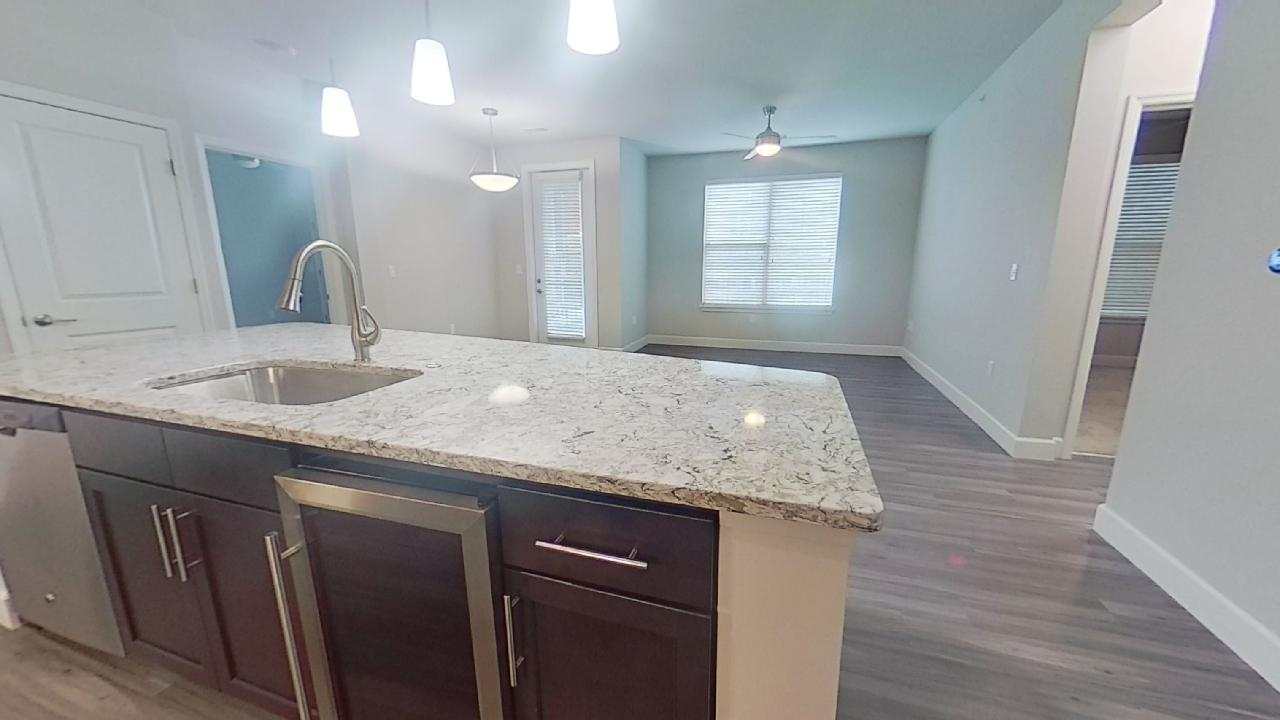 B3 Kitchen Lighting at the Vue at Creve Coeur Apartments in Creve Coeur, MO