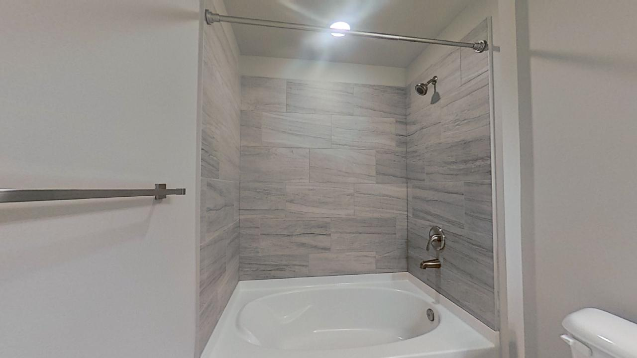 B3 Walk In Shower Tile Surrounds at the Vue at Creve Coeur Apartments in Creve Coeur, MO