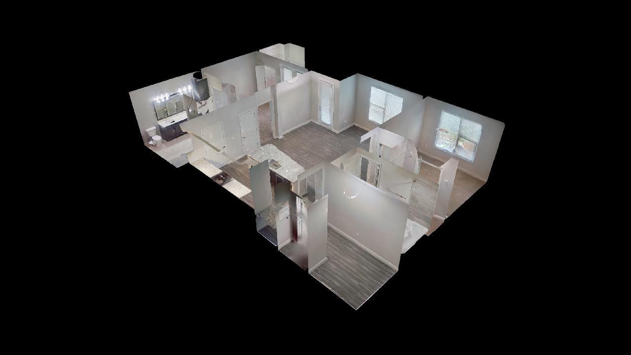 B3 Floor Plan at the Vue at Creve Coeur Apartments in Creve Coeur, MO