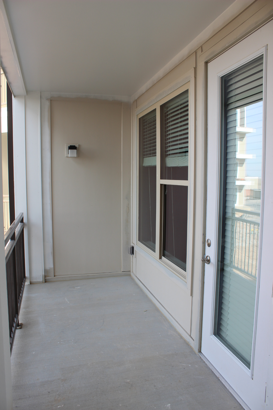 A3 Balcony  at the Vue at Creve Coeur Apartments in Creve Coeur, MO
