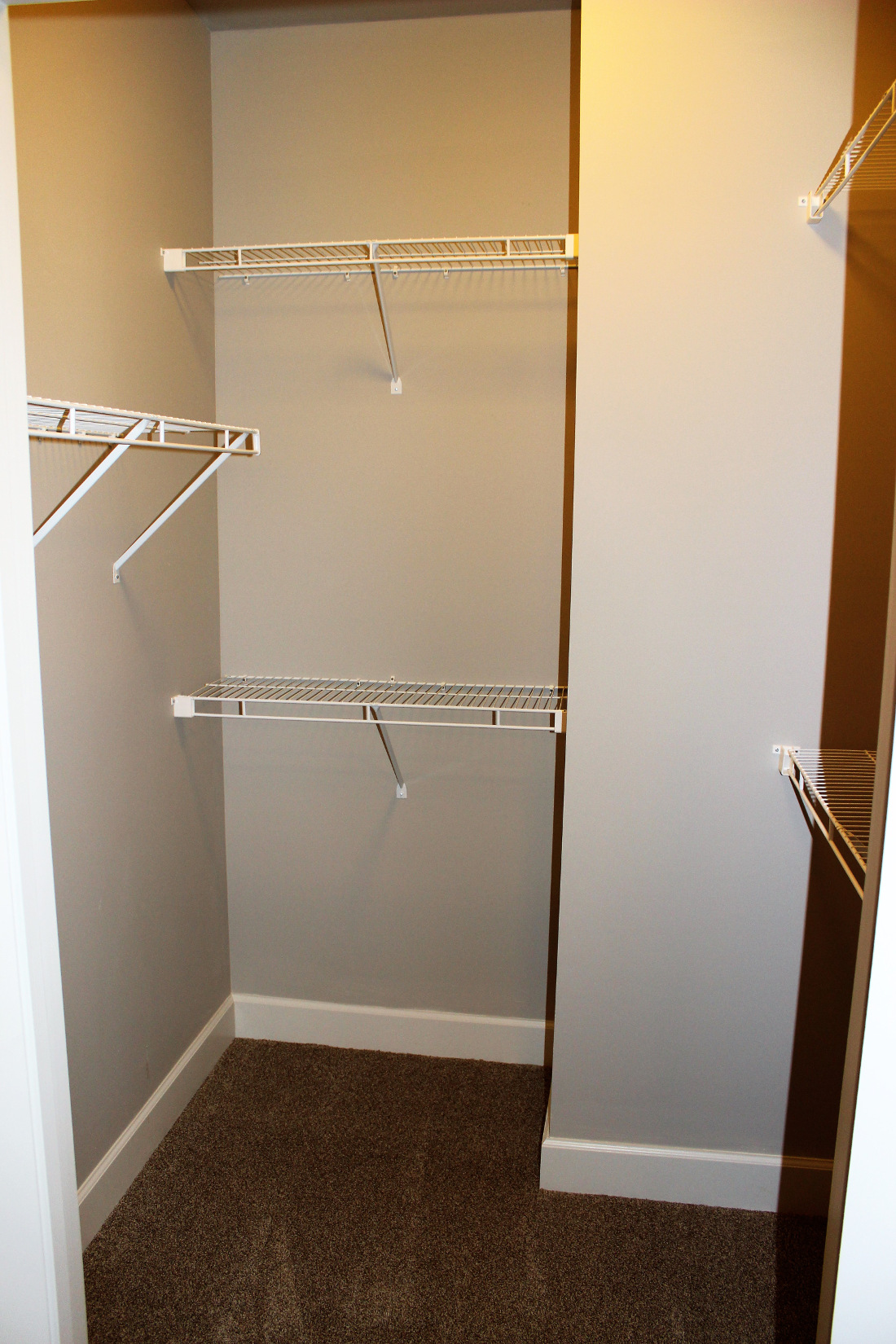 B2 Closet at the Vue at Creve Coeur Apartments in Creve Coeur, MO