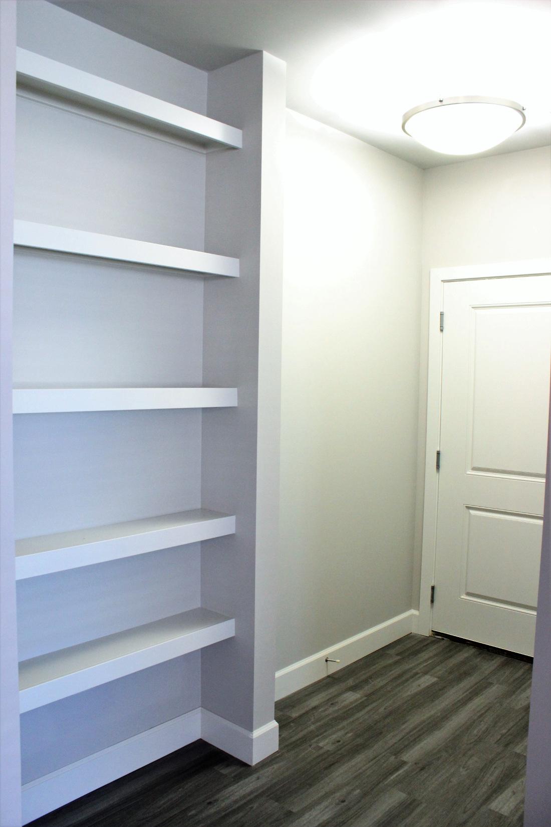 B1 Closet at the Vue at Creve Coeur Apartments in Creve Coeur, MO