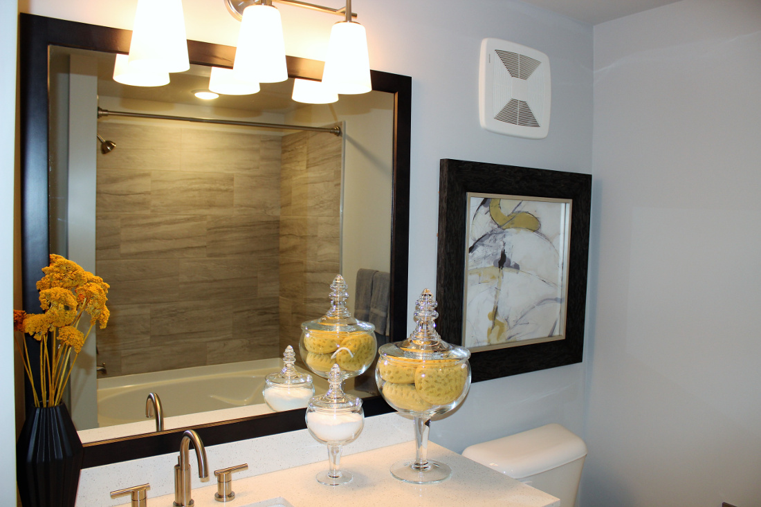 A3 Bathroom at the Vue at Creve Coeur Apartments in Creve Coeur, MO