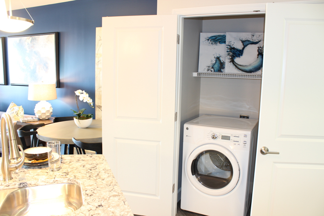 A3 Laundry Room  at the Vue at Creve Coeur Apartments in Creve Coeur, MO