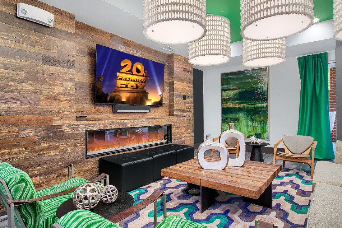Lounge  at the Vue at Creve Coeur Apartments in Creve Coeur, MO