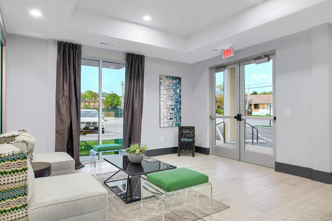 Office at the Vue at Creve Coeur Apartments in Creve Coeur, MO