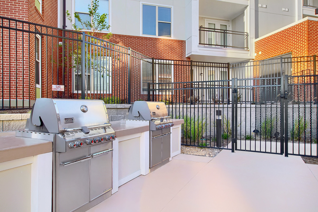 Grill Station at the Vue at Creve Coeur Apartments in Creve Coeur, MO