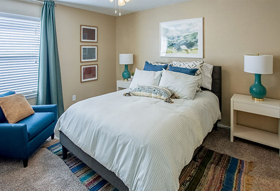 1 and 2-Bedrooms Apartments for Rent at Curry Junction Apartments in Abilene, Texas