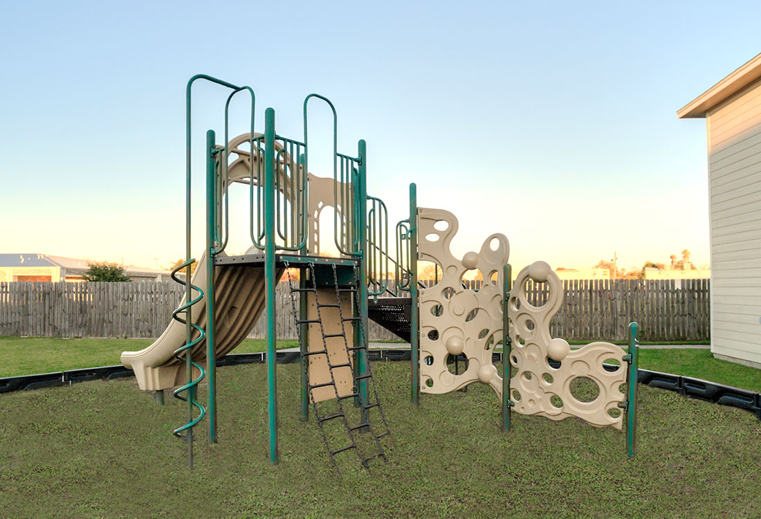 Children's Playground at Cypress Bend Apartments in Beaumont, TX