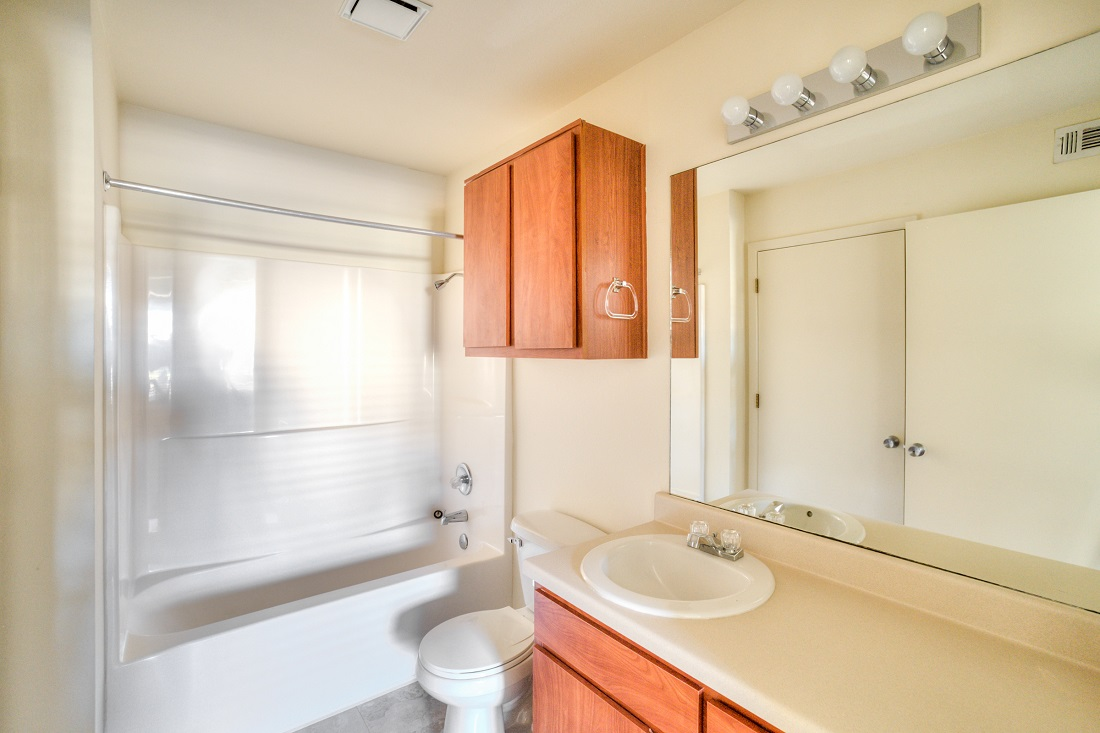 Large Bathroom Vanities at Cypress Bend Apartments in Beaumont, TX