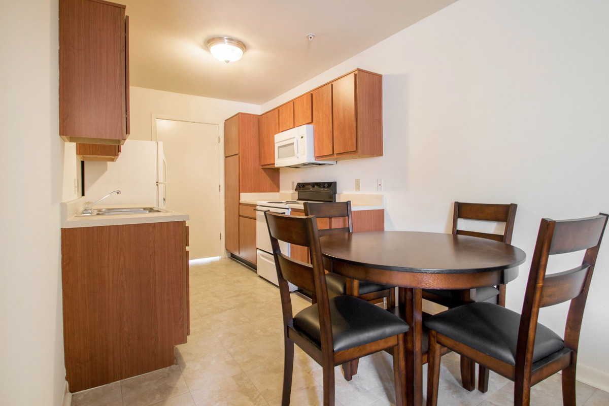 Dining & Kitchen Area at Cypress Bend Apartments in Beaumont, TX