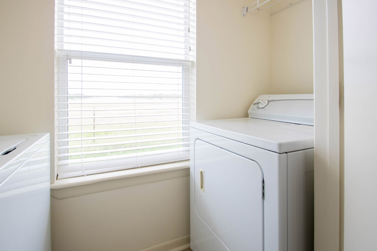In-home Washer & Dryer at Cypress Bend Apartments in Beaumont, TX