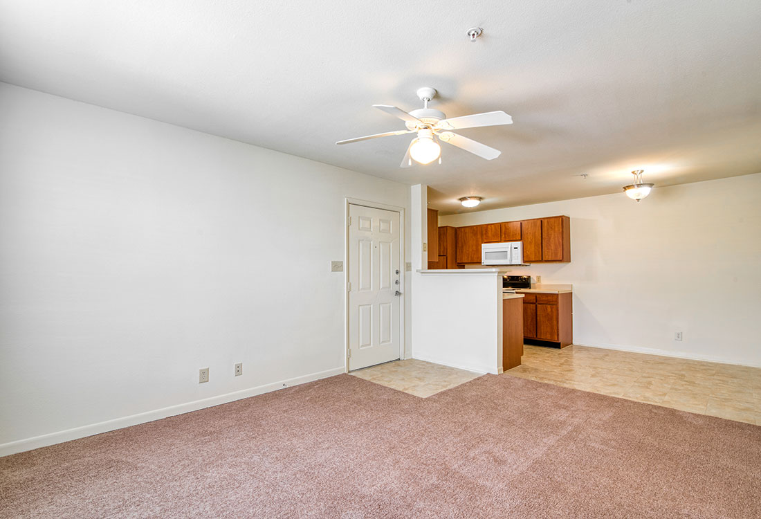 1 & 2 Bedroom Apartments with Spacious Living Rooms at Cypress Bend Apartments in Beaumont, TX