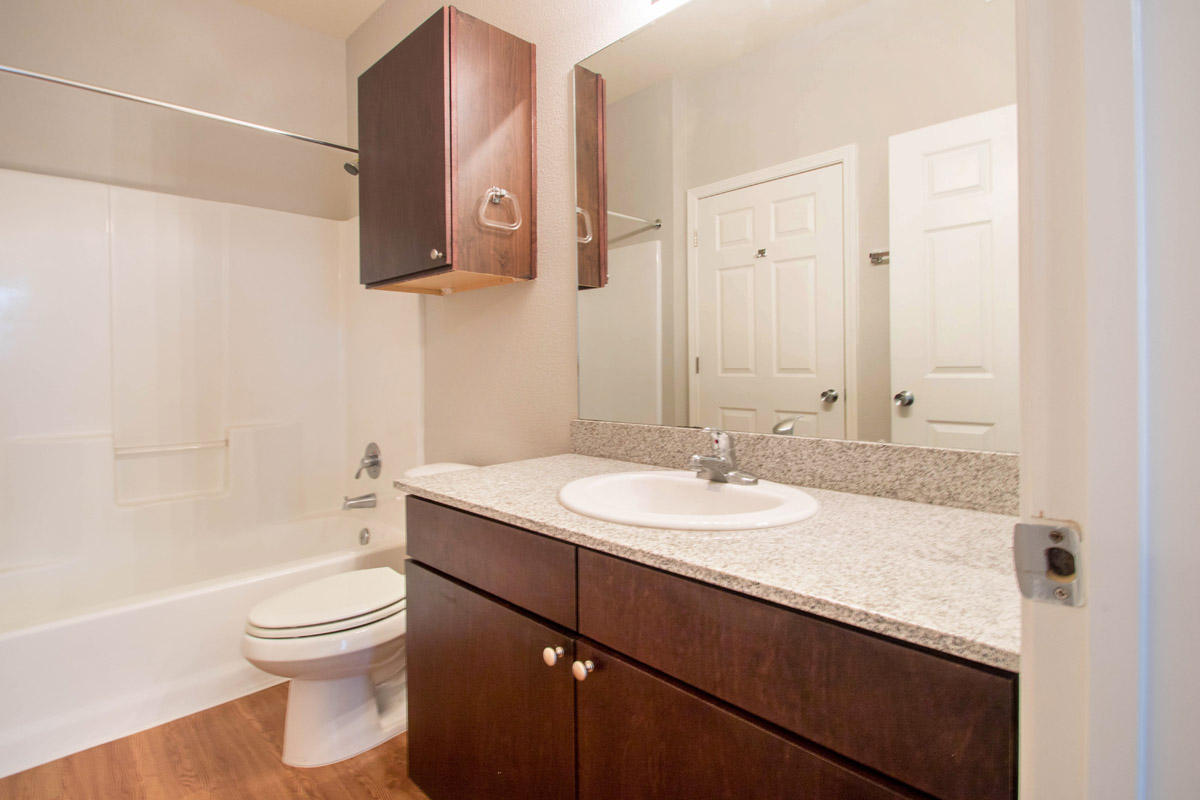 Ample Countertop Space at Cypress Bend Village Apartments in Beaumont, TX