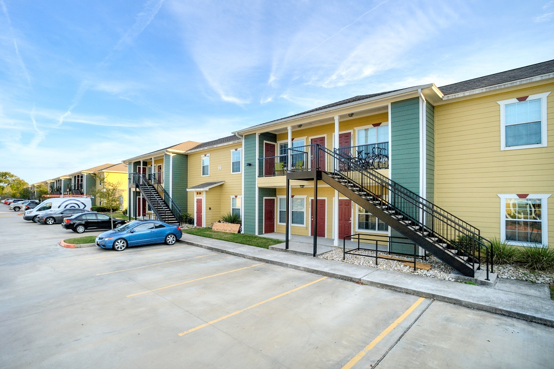 Effortless Parking at Cypress Bend Village Apartments in Beaumont, TX