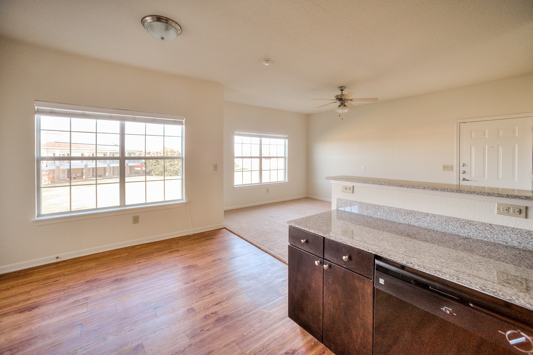 Granite Countertops at Cypress Bend Village Apartments in Beaumont, TX