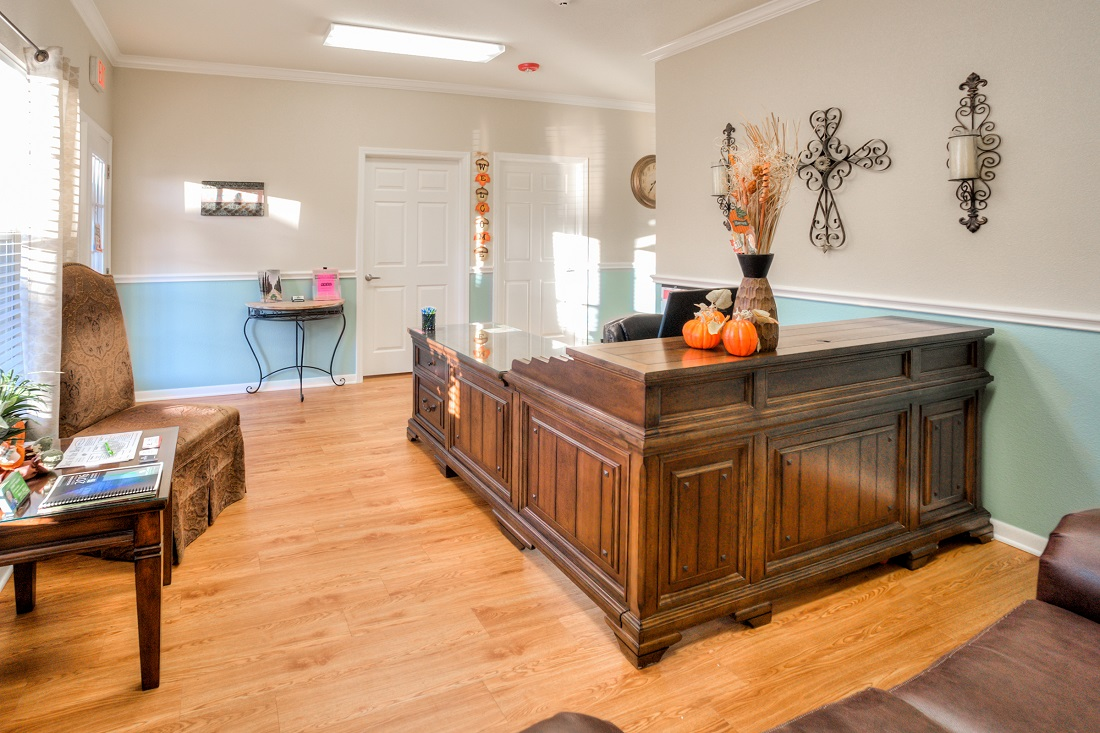 Leasing Office at Cypress Bend Village Apartments in Beaumont, TX