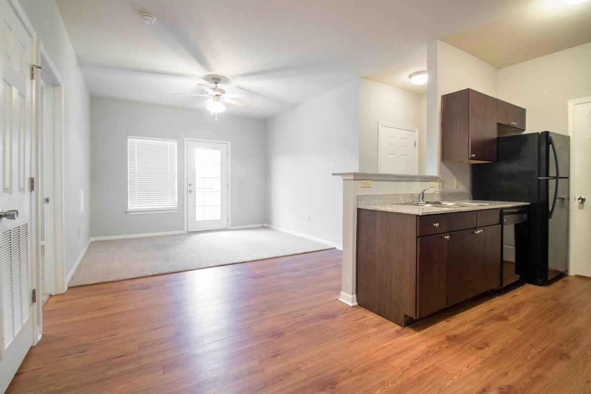 Open Floor Plans at Cypress Bend Village Apartments in Beaumont, TX