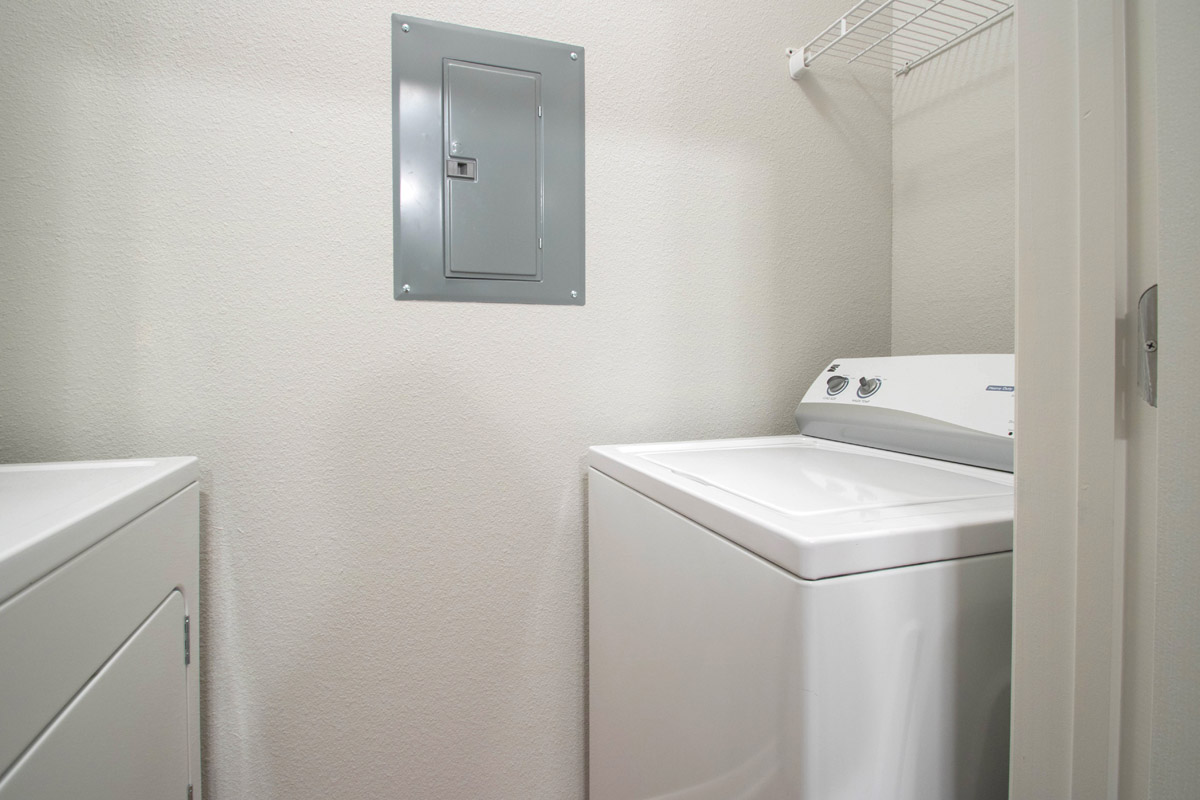 In-Home Laundry at Cypress Bend Village Apartments in Beaumont, TX