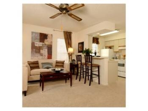 Spacious Living Room at Cypress Trail Apartments in New Port Richey, FL