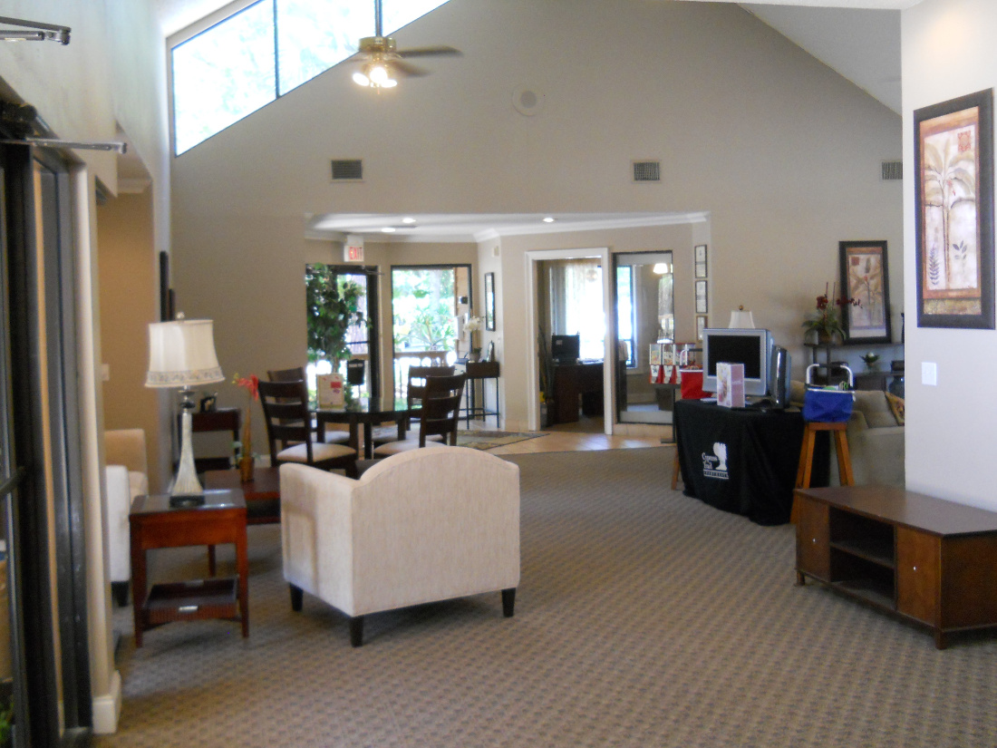 Spacious Interior at Cypress Trail Apartments in New Port Richey, FL