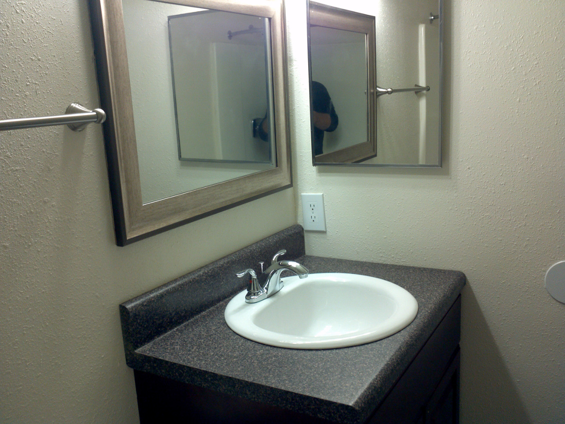 Bathroom at Cypress Trail Apartments in New Port Richey, FL