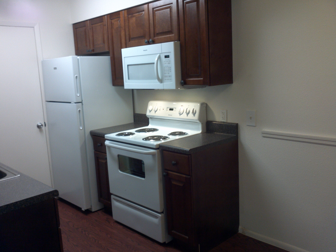 Kitchen at Cypress Trail Apartments in New Port Richey, FL